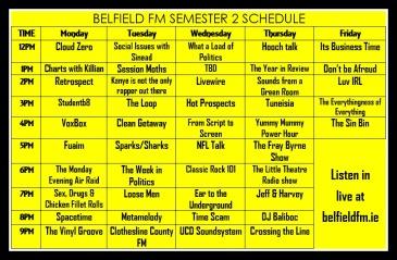 SEM 2 schedule 1